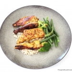 morrocan chicken beans brocolli rice